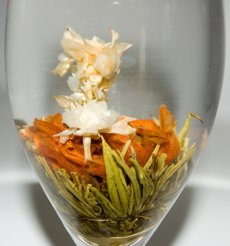 Thé en fleur